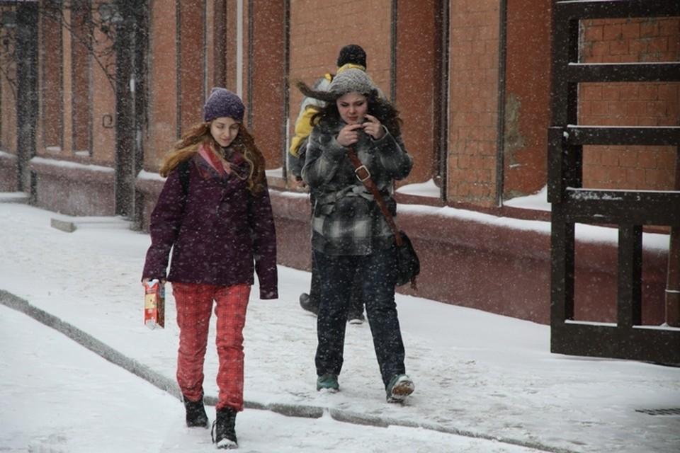 Погода в Иркутске: 21 апреля в городе продолжит идти снег