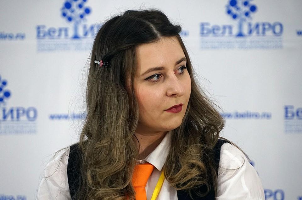 Анастасия Гречухина. Фото центра по связям с общественностью и СМИ ОГАОУ ДПО «БелИРО».
