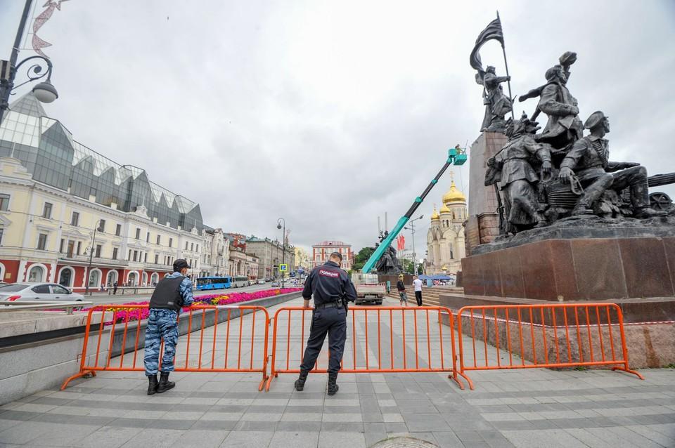 Полиция Приморья предупредила потенциальных участников несогласованных митингов
