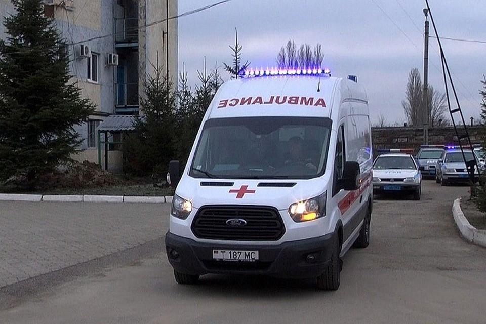 Бедолаге пришлось обратиться за медпомощью. (Фото: МВД Приднестровья).