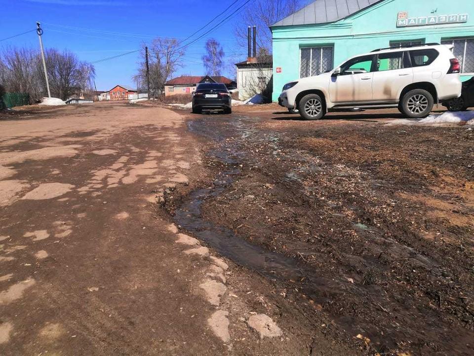 Летом отремонтируют дорогу к селу Большие Бакалды протяженностью 9,6 км.