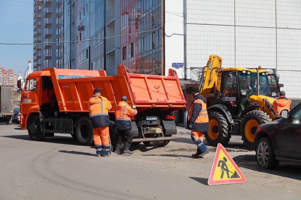 Красноярцев просят сообщать по телефону 005 о дорогах, нуждающихся в ремонте