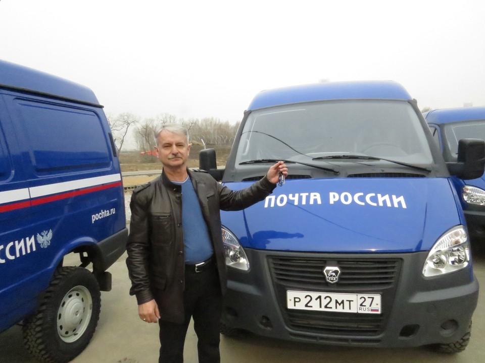 Водитель Игорь Тихонов новой машиной вполне доволен