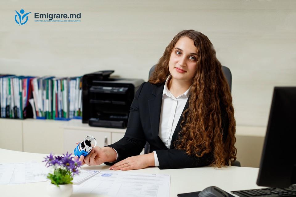 Ченуша Чезара - эксперт по вопросам гражданства компании Emigrare.md.