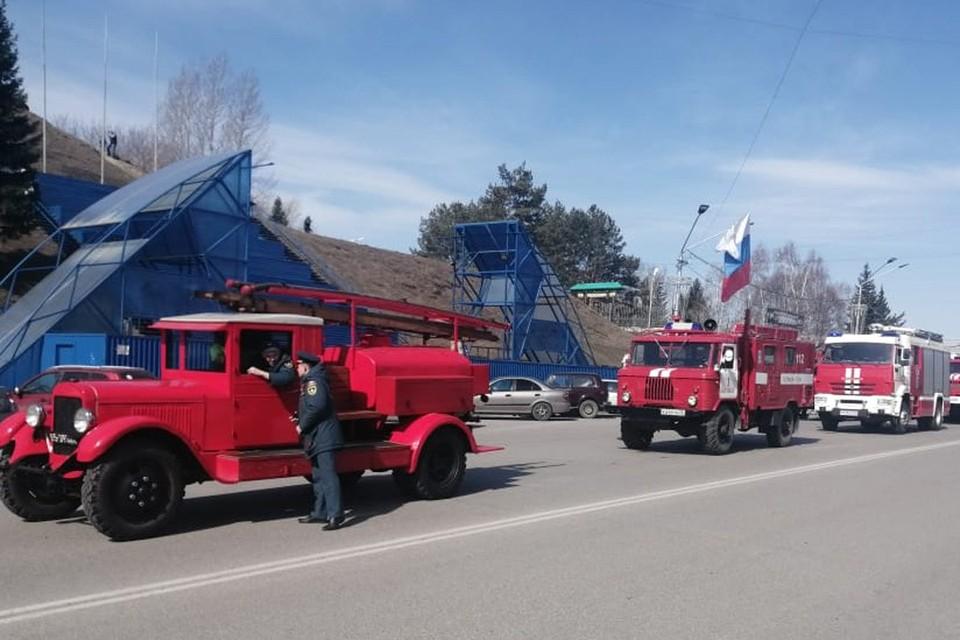Праздник в честь пожарной охраны России