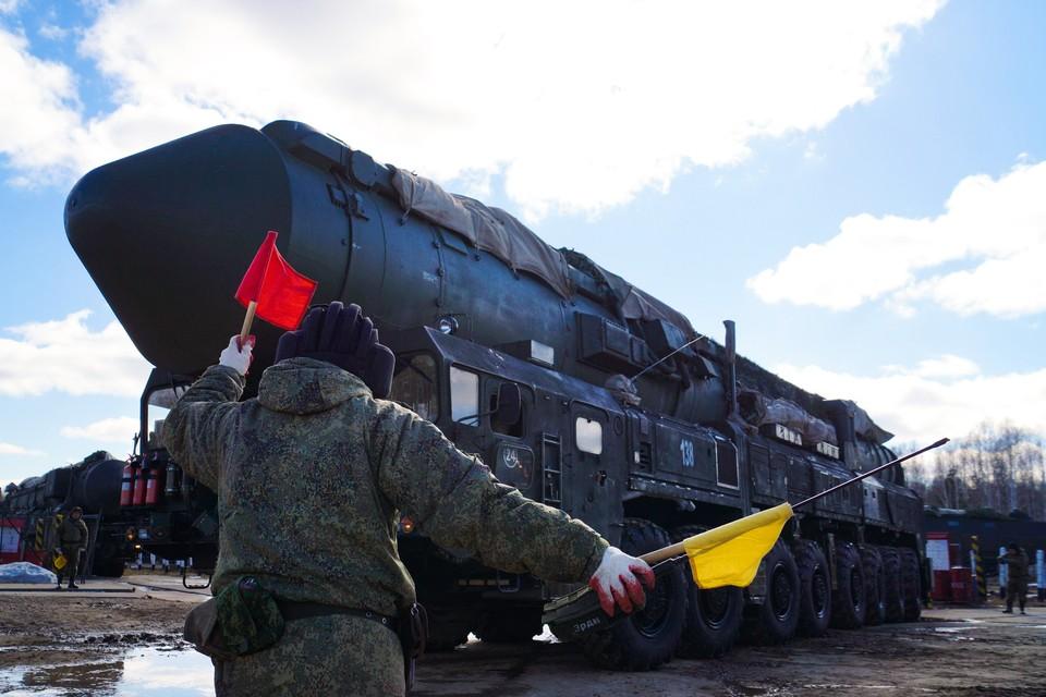 Пусковая установка ПГРК «Ярс» всего в нескольких десятках километров от Новосибирска.