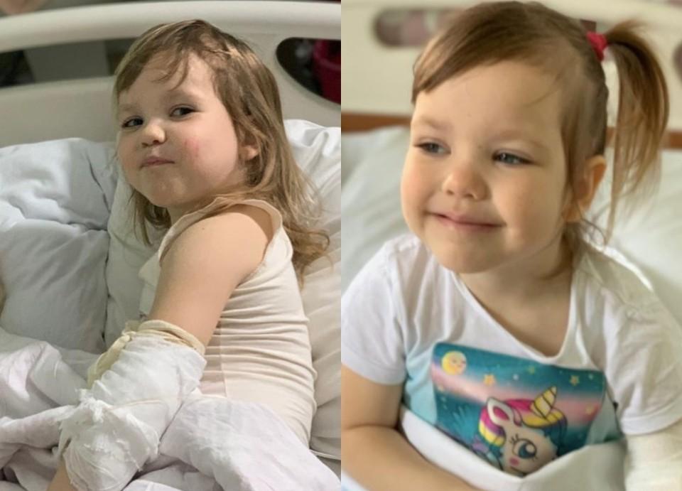 Многодетная семья и сотни подписчиков Оксаны надеются, что у девочки легкая форма лейкоза. Фото: предоставлено Оксаной Усовой