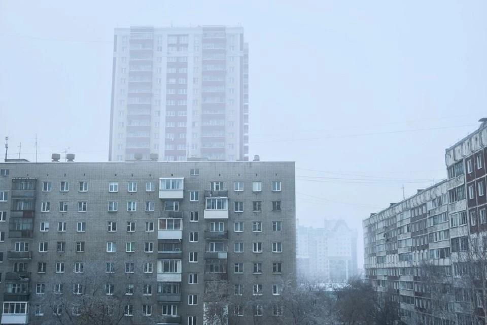 Уровень загрязнения воздуха в Новосибирске достиг 7 баллов.