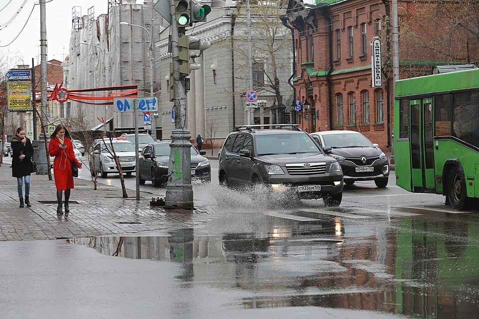 Погода на майские праздники в Красноярске 2021: ожидаются дожди и прохлада