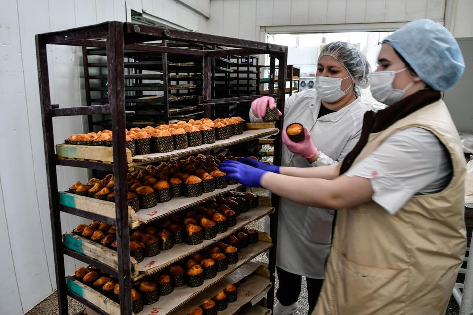На одном из хлебозаводов региона тоже во всю готовятся к Пасхе