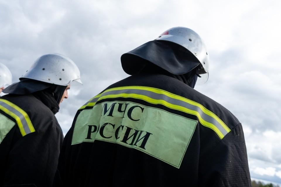 Орловские пожарные потушили теплицу, гараж и «ВАЗ»