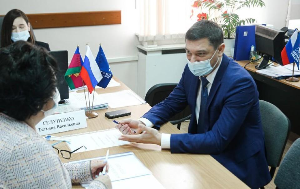 Мэр Краснодара Евгений Первышов. Фото: t.me/PervyshovEA