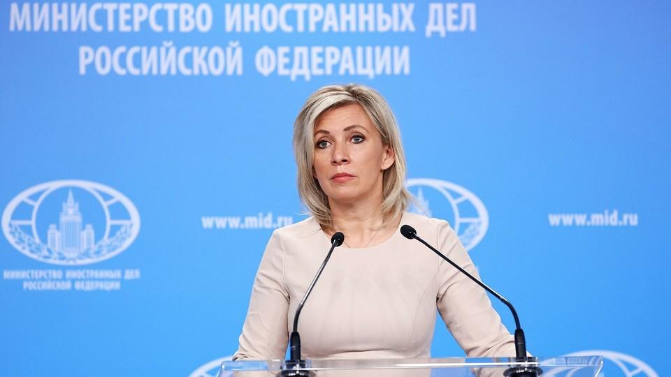 Захарова заявила, что РФ призывает США и ЕС воздержаться от вмешательства в дела Молдавии. Фото:соцсети