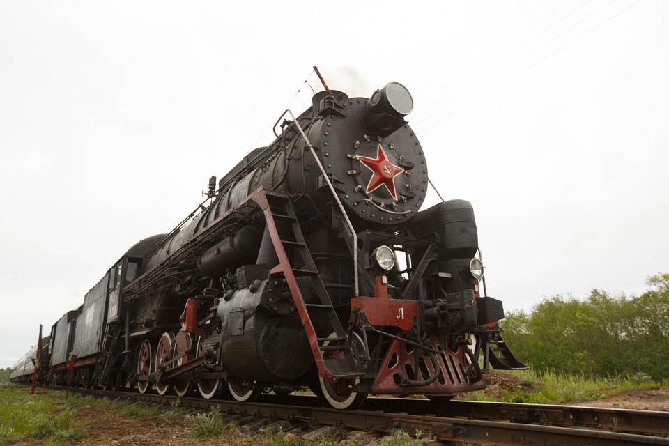 По предварительной информации, в Калининград паровоз должен прийти из Санкт-Петербурга.