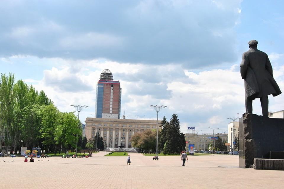 В Донецке будет переменная облачность