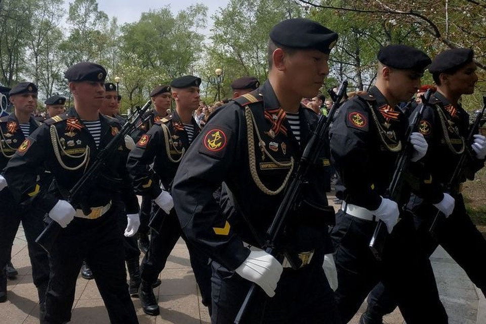 Во Владивостоке пройдет репетиция Парада Победы.