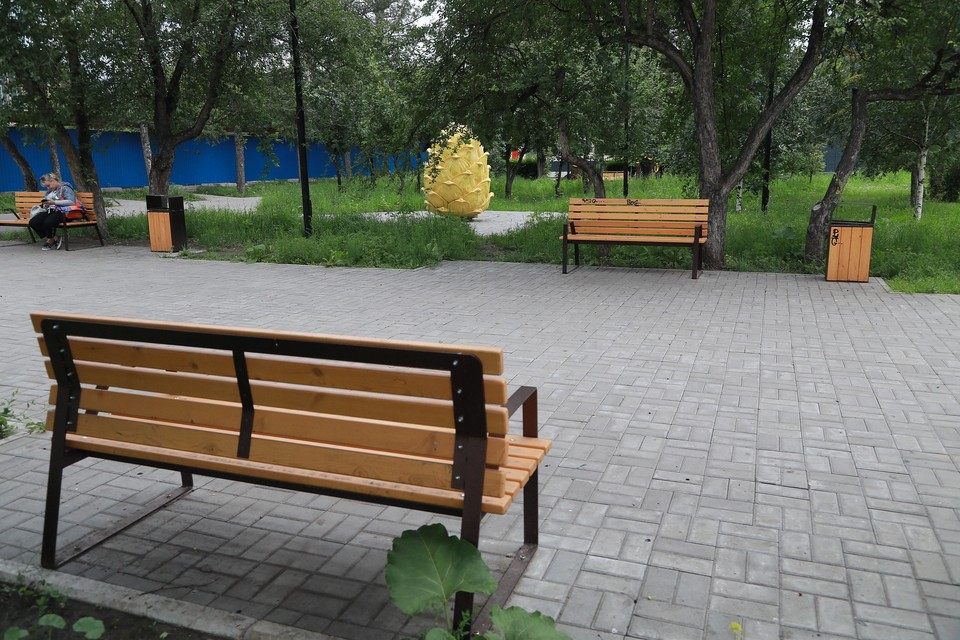В Красноярске на Ярыгинской набережной пройдет выставка уличной мебели