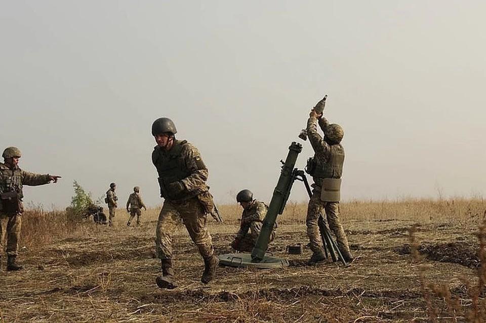 ВСУ пять раз за сутки нарушили перемирие в ЛНР. Фото: штаб ООС