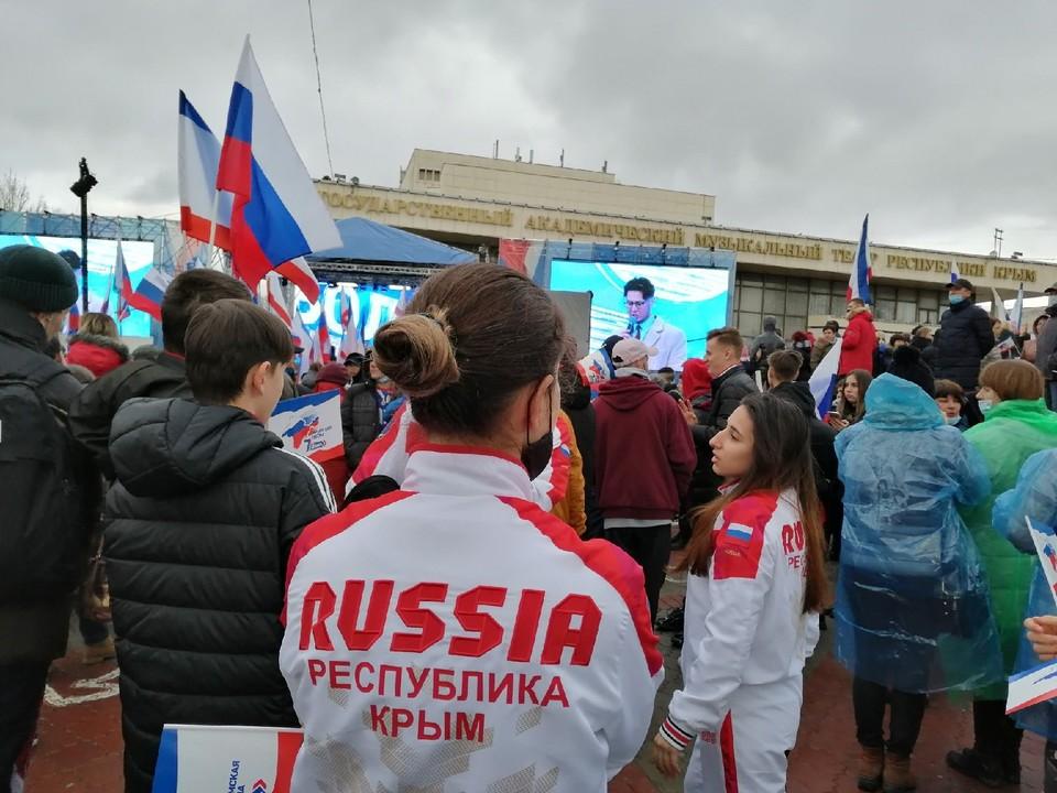 Крым в составе России с 2014 года.