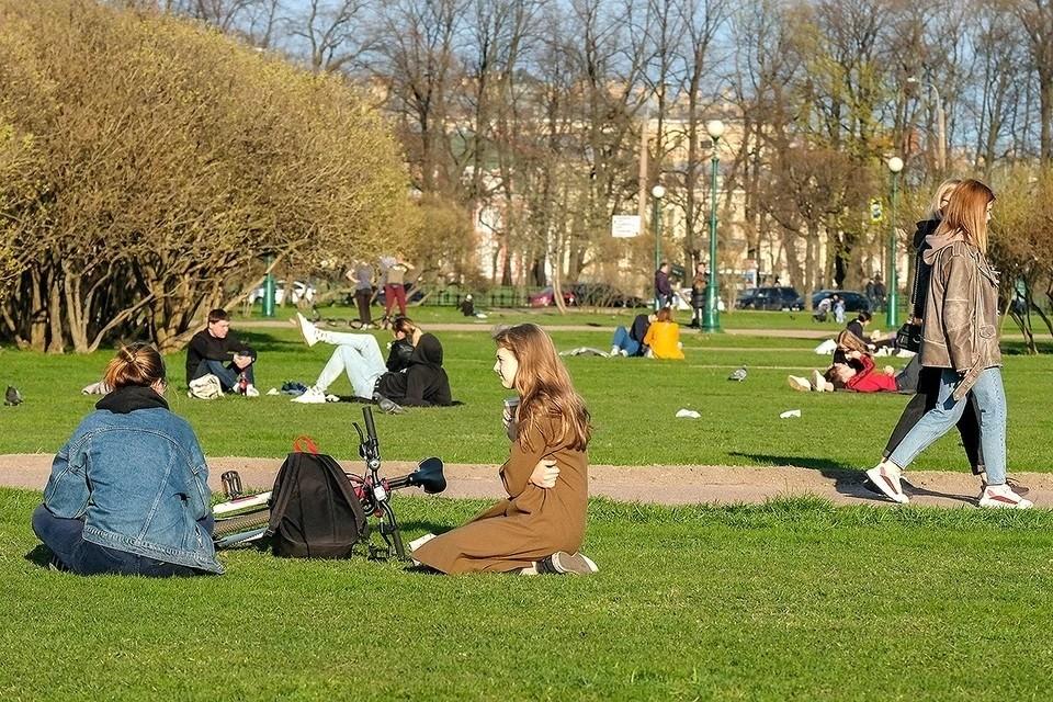В последние дни апреля в Москву придет потепление