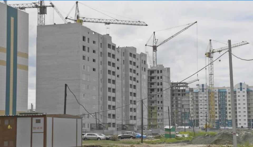 Стройка в Барнауле
