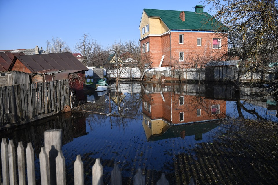 Пяти районам Нижнего Новгорода грозит подтопление из-за паводка.