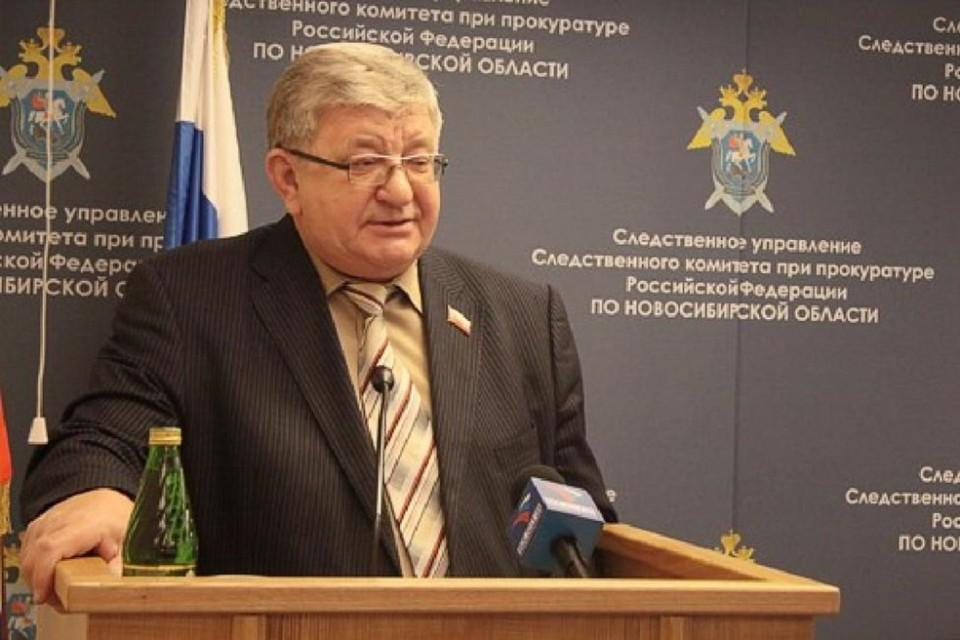 Умер Алексей Беспаликов — бывший сенатор от Новосибирской области. Фото: Заксобрание НСО.