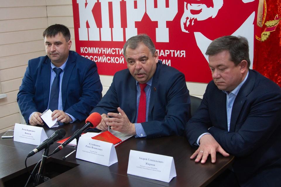 Роман Яковлев, Ренат Сулейманов и Андрей Жирнов.