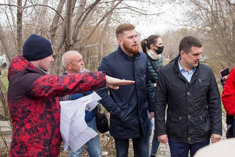 Выездное совещание (Фото: «Вечерний Барнаул» для администрации Барнаула)