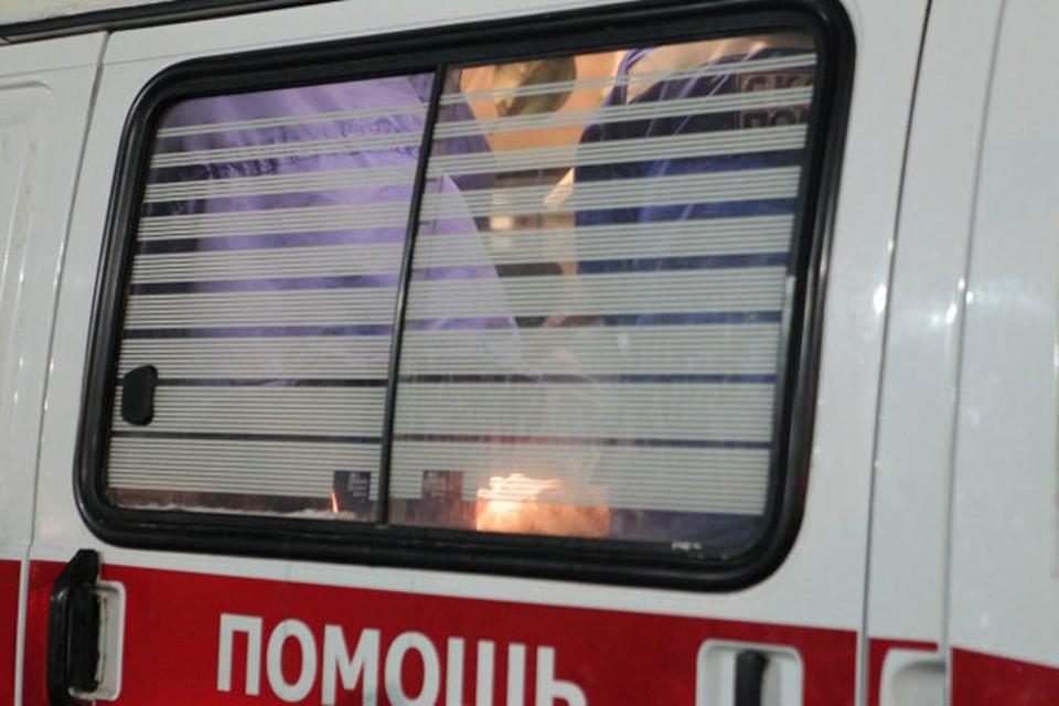 В аварии пострадали десять пассажиров автобуса