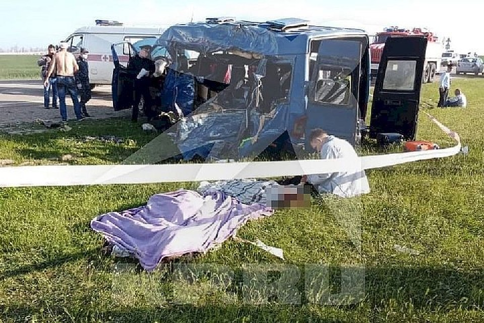 В ДТП С КамАЗом пострадали 19 человек. Фото: предоставлено очевидцем.
