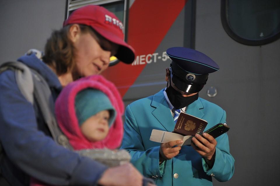 Дополнительные поезда запустят из Новокузнецка в Анапу и Адлер.