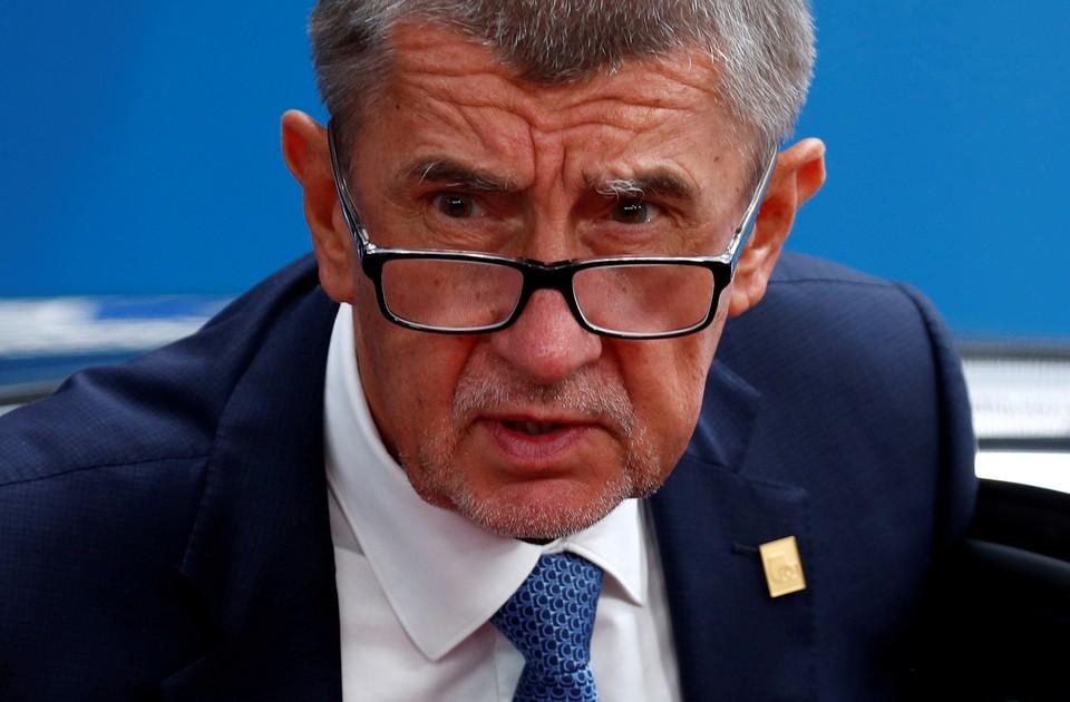 Премьер-министр Чехии Андрей Бабиш.
