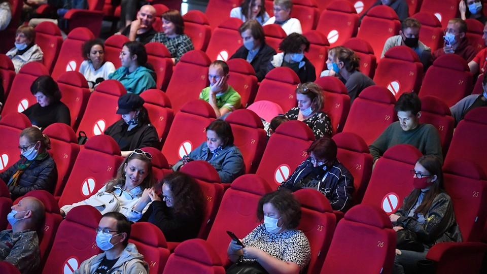 Кинотеатры будут заполняться не более, чем на 50 процентов.