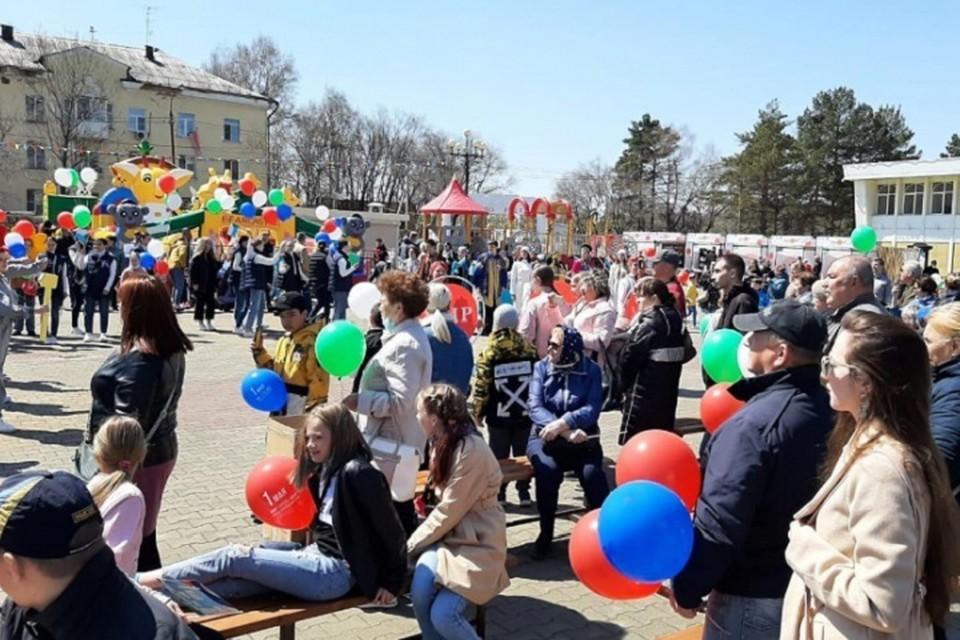 На фестивале-ярмарке «АмурФест.Весна» отпраздновали Пасху. Фото: пресс-служба правительства Хабаровского края.