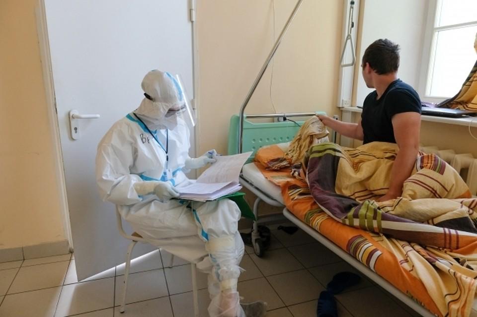 Омичи продолжают попадать в ковидные госпитали.