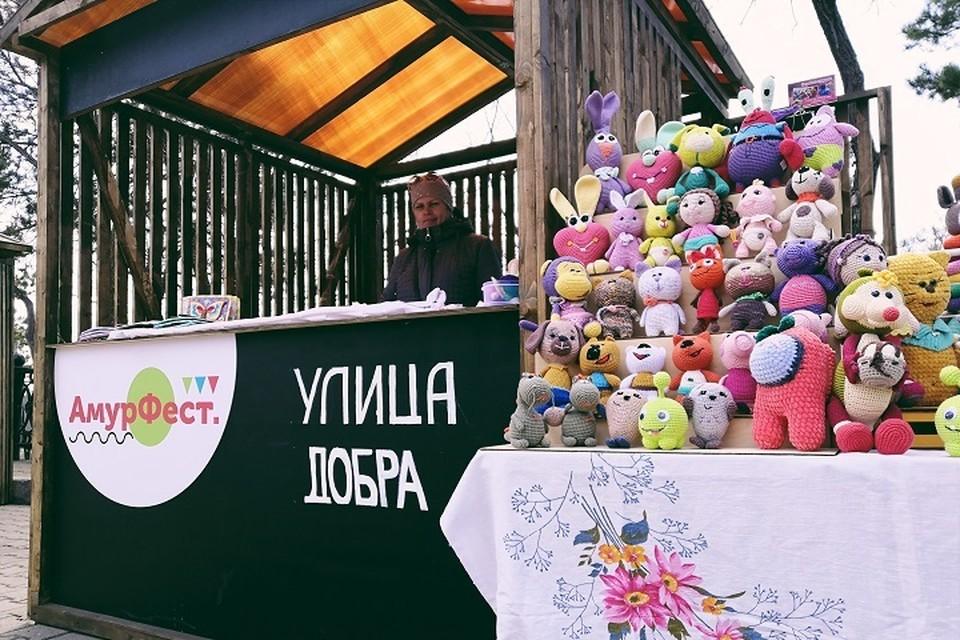 Третий день фестиваля-ярмарки «АмурФест.Весна» прошел в Хабаровске
