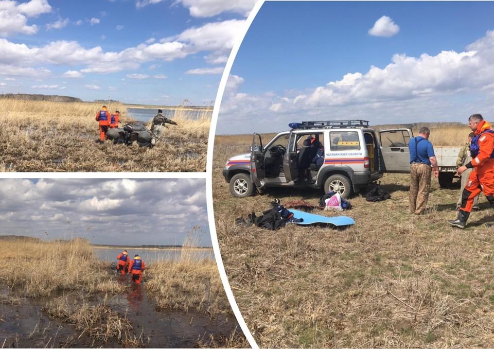 Мужчин не могут найти уже третий день. Фото: поисково-спасательная служба Челябинской области