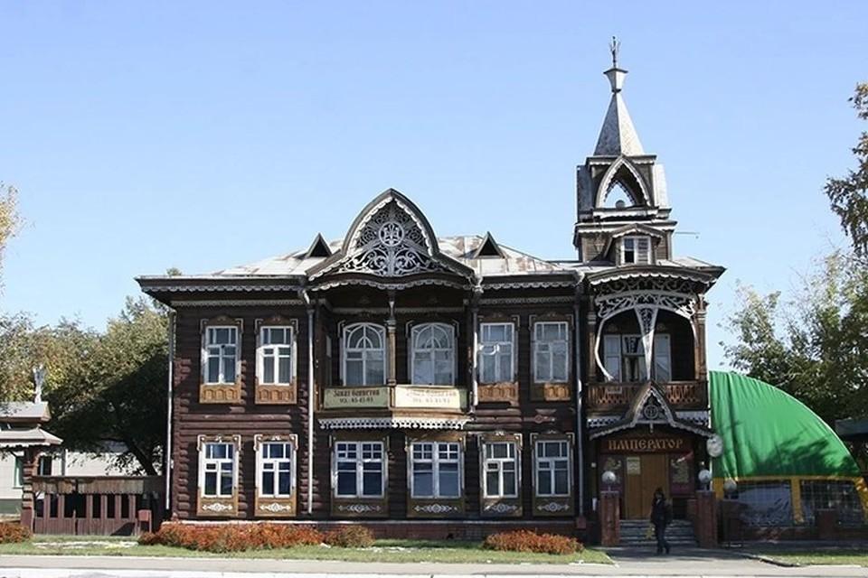 Исторический особняк Дом купца Шадрина