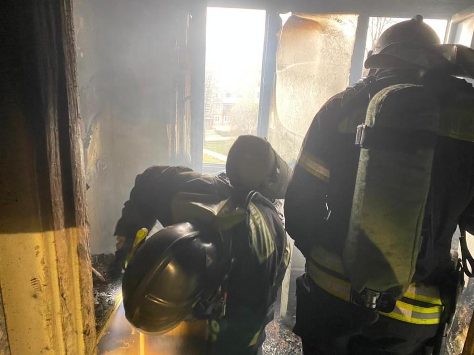 В Тульской области в квартире сгорела плита