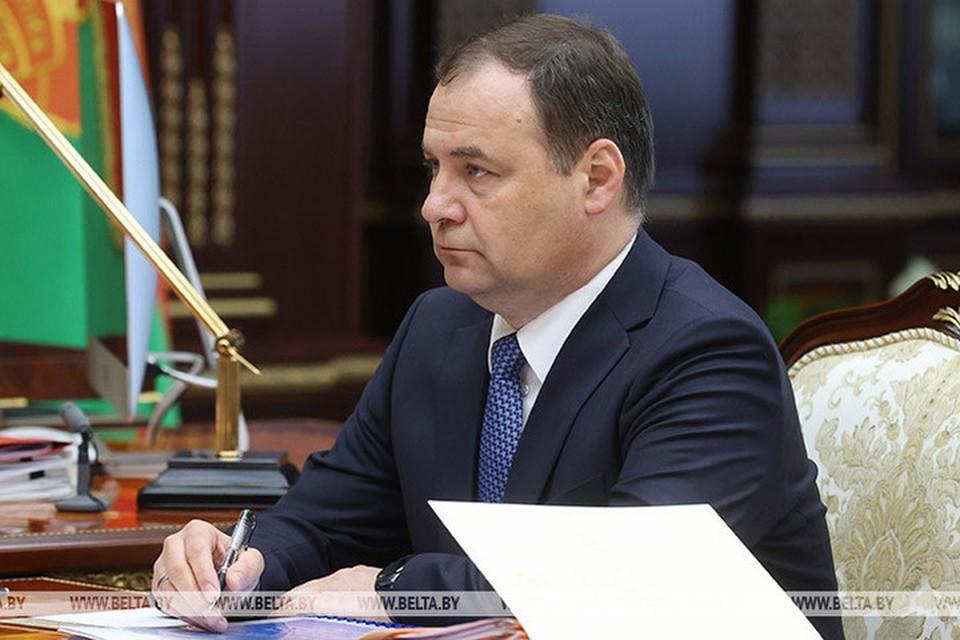 Головченко рассказал о возможности новых мер в ответ на санкции. Фото: БелТА
