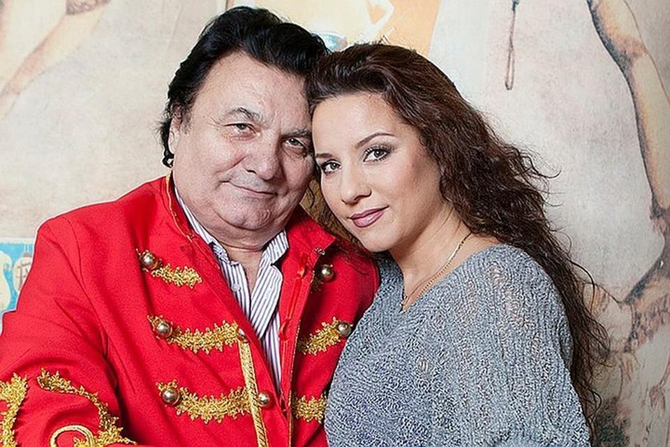 Михаил Багдасаров с дочерью Кариной.