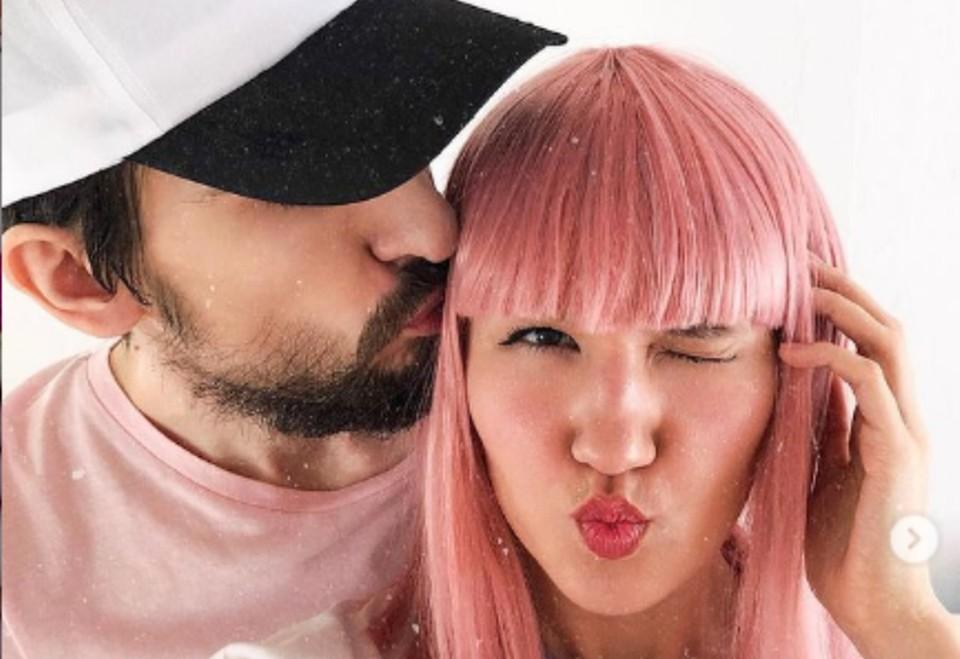 На фотографии Кристина Журавлева и ее супруг Дмитрий. Фото: Instagtam
