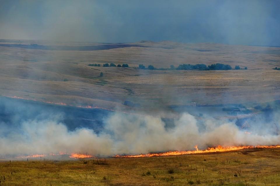 Уральцы продолжают жечь траву, не смотря на запрет