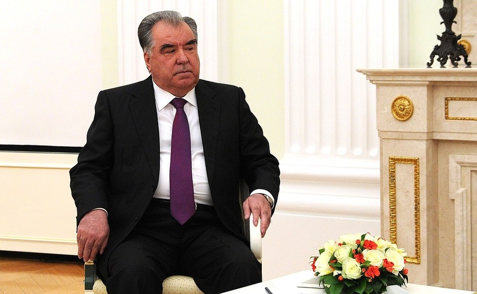 Таджикскимй президент выразил соболезнования Путину после стрельбы в казанской школе. Фото: пресс-служба Кремля