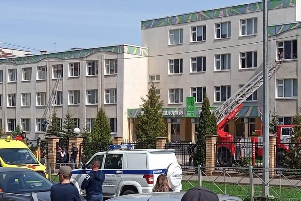 Старшеклассники школы, где произошел взрыв и стрельба, должны снова сесть за парты уже 17 мая.