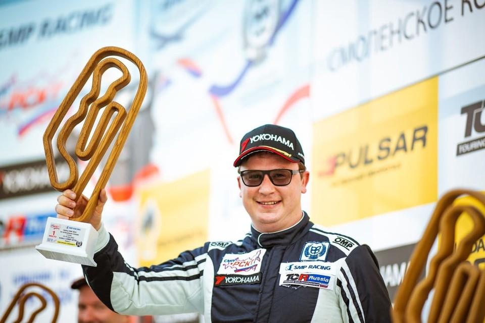 Представитель Пермского края выиграл этап Российской серии кольцевых гонок