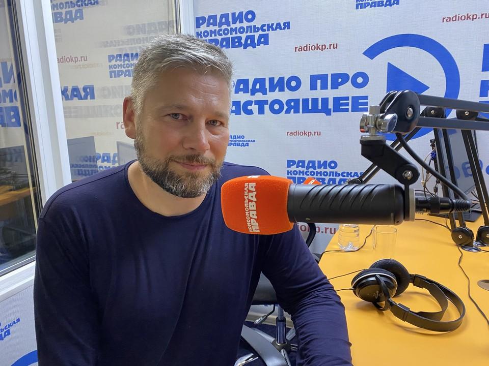 """Игорь Люлин в студии радио """"КП""""-Краснодар"""""""
