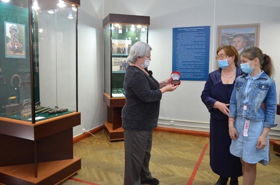 Родные коллекционера передали в дар музею еще несколько экспонатов