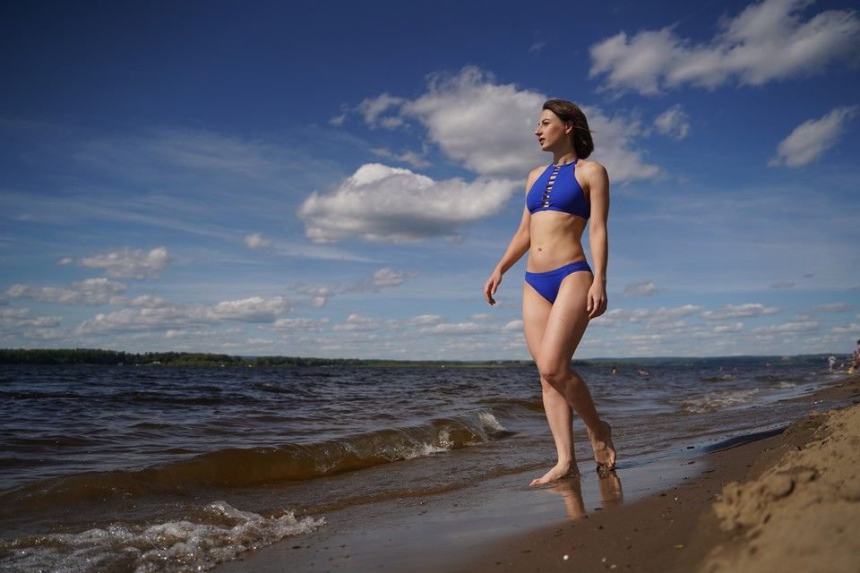 Температура в воздухе в июне будет нестабильная, а в Волге уже вполне комфортная для купания